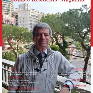 David Solomon, Monaco Residents' Magazine - Spring 2021