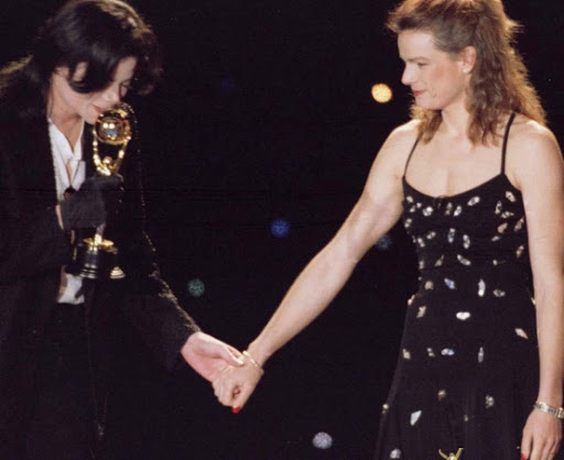 Michael Jackson and Princess Stephanie of Monaco